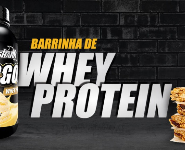 Barrinha de Whey Protein