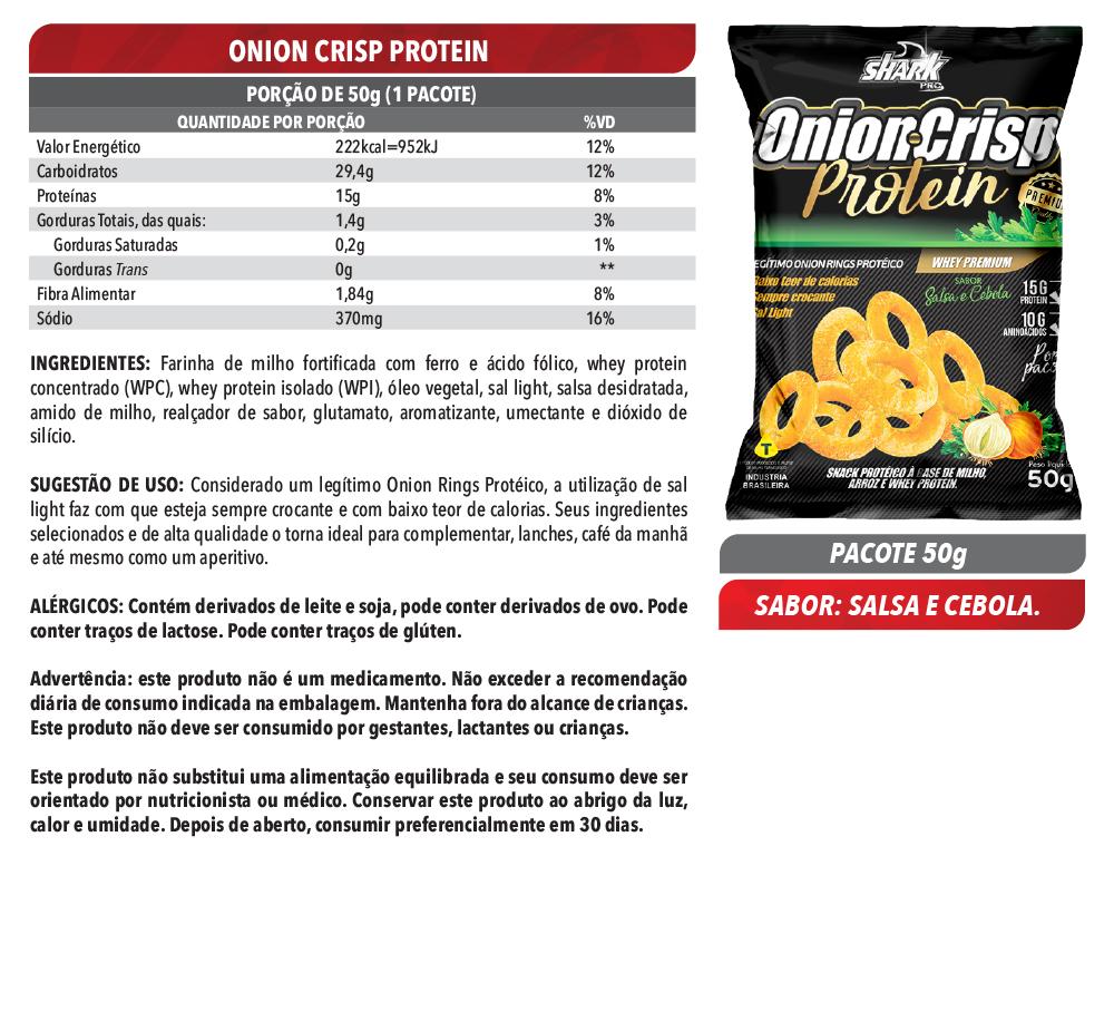 Onion Crisp Protein - 10 un.